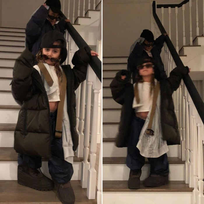 Kourtney Kardashian and Kim Kardashian Joke Daughters Penelope and North Are Much Cooler