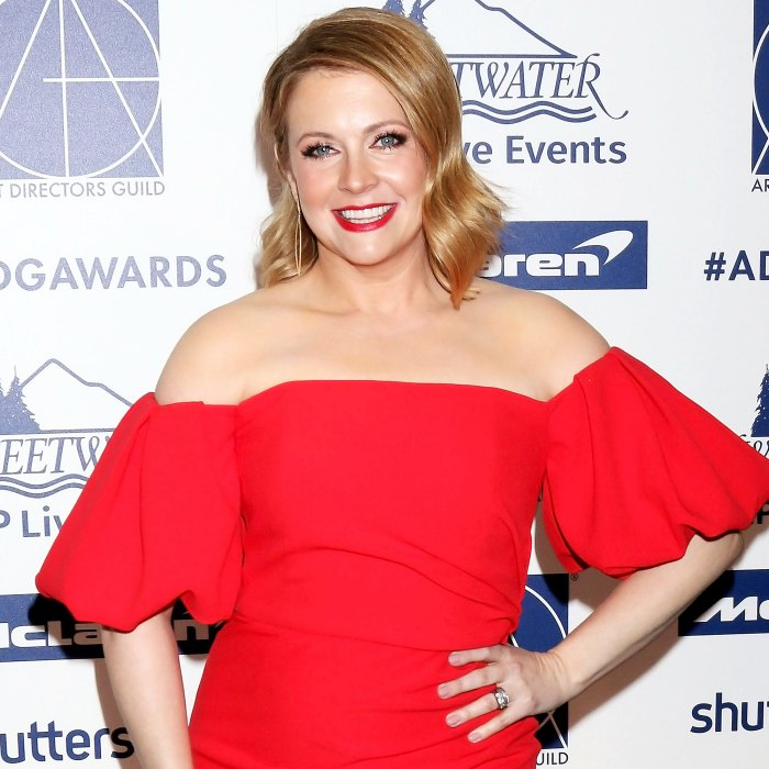 Melissa Joan Hart Shares Son Reaction Watching Her Kissing Scene
