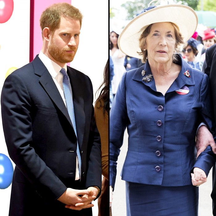 Prince Harry Godmother Lady Celia Vestey Dies 'Suddenly But Peacefully' at 71