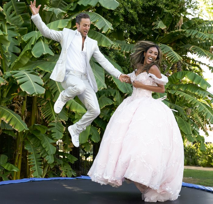 Tayshia Adam Reveals Which Bachelorette Suitor Is Husband Material Addresses Diamond Ring