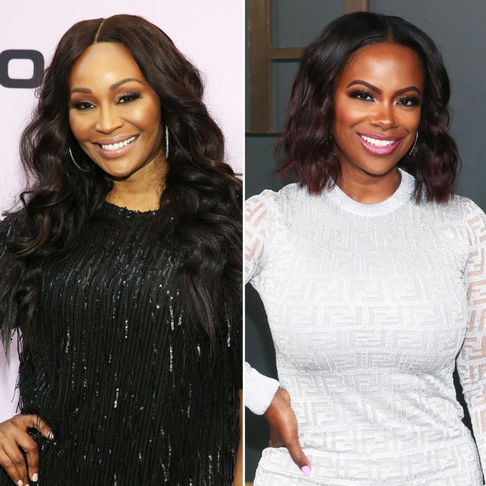 Real Housewives Of Atlanta Cynthia Bailey and Kandi Burruss Tease Bachelorette Party and Stripper Drama