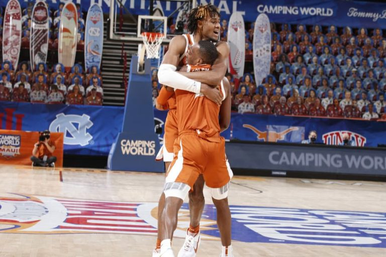 Texas Longhorns Win Their 1st Maui Invitational, Matt Coleman Takes Down Tar Heels, 69-67