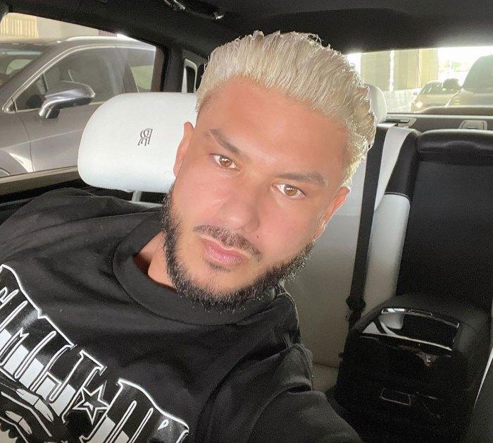 OMG! DJ Pauly D Debuts Platinum Hair