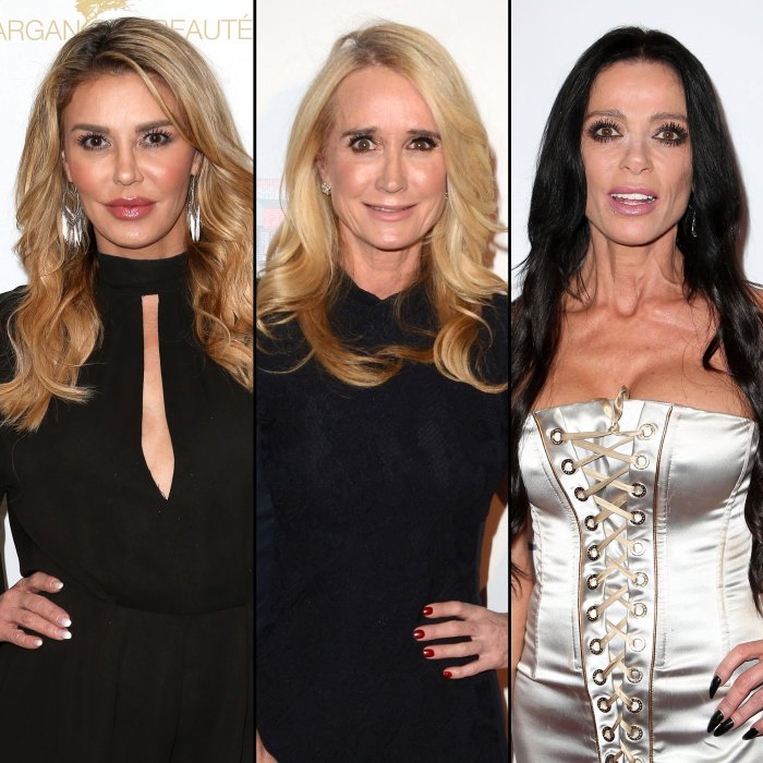 Brandi Glanville Says Kim Richards Is Not Talking to Her After Threesome Rumors, Claims She Hooked Up With Carlton Gebbia