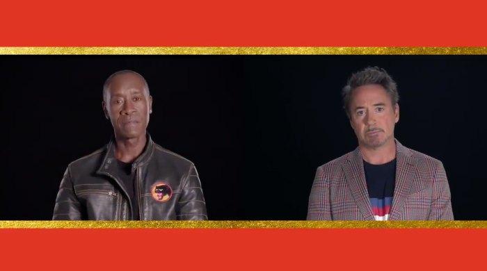Robert Downey Jr. and Don Cheadle Honor Chadwick Boseman at MTV Movie TV Awards 2020