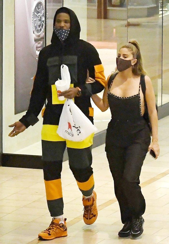 Larsa Pippen Got Flirty Comment From Malik Beasley Before Miami Date