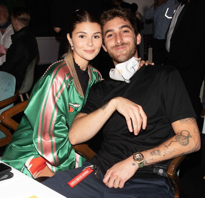 Olivia Jade Giannulli Boyfriend Jackson Guthy Says Hes Proud Her After Red Table Talk Interview